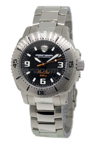 Vostok(Wostok) Uhr Amphibia Red sea 2416/040688