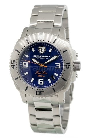 Vostok(Wostok) Uhr Amphibia Red sea 2416/040690