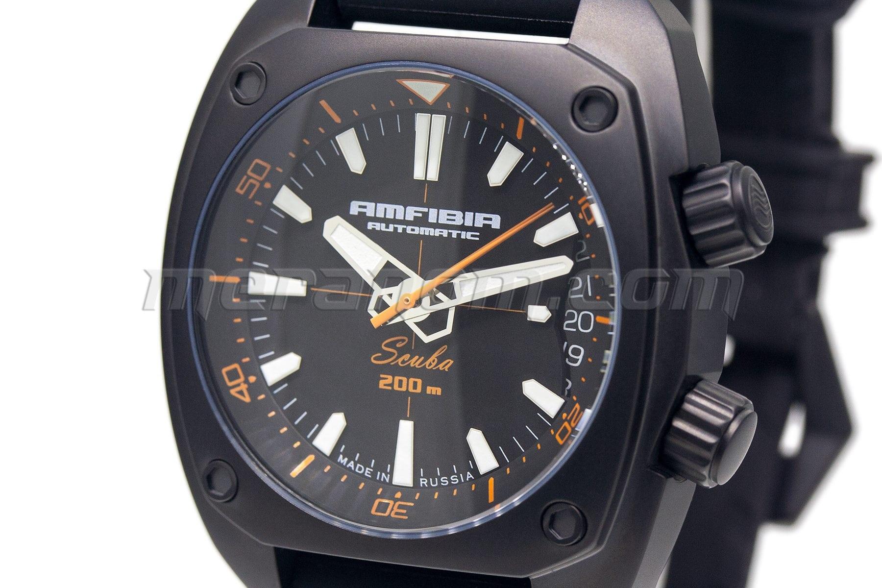 Купить часы восток scuba купить часы в стиле милитари