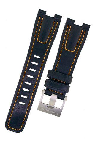 Strap RR02 leather orange stitching