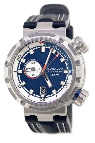 Buyalov RR02 Akula Blue, Leather