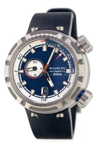Buyalov RR02 Akula Blue, cinturón de goma