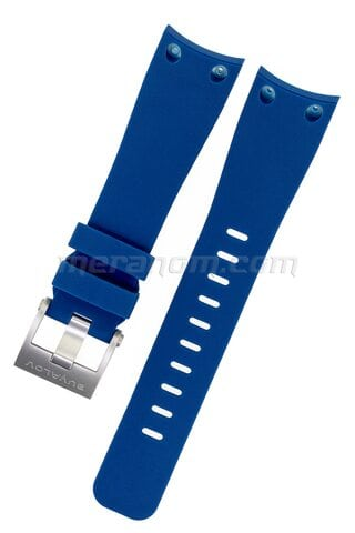 Blue silicon strap for RR