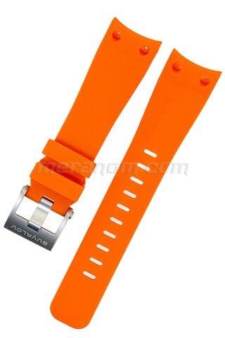 Ремешок силиконовый RR оранжевый