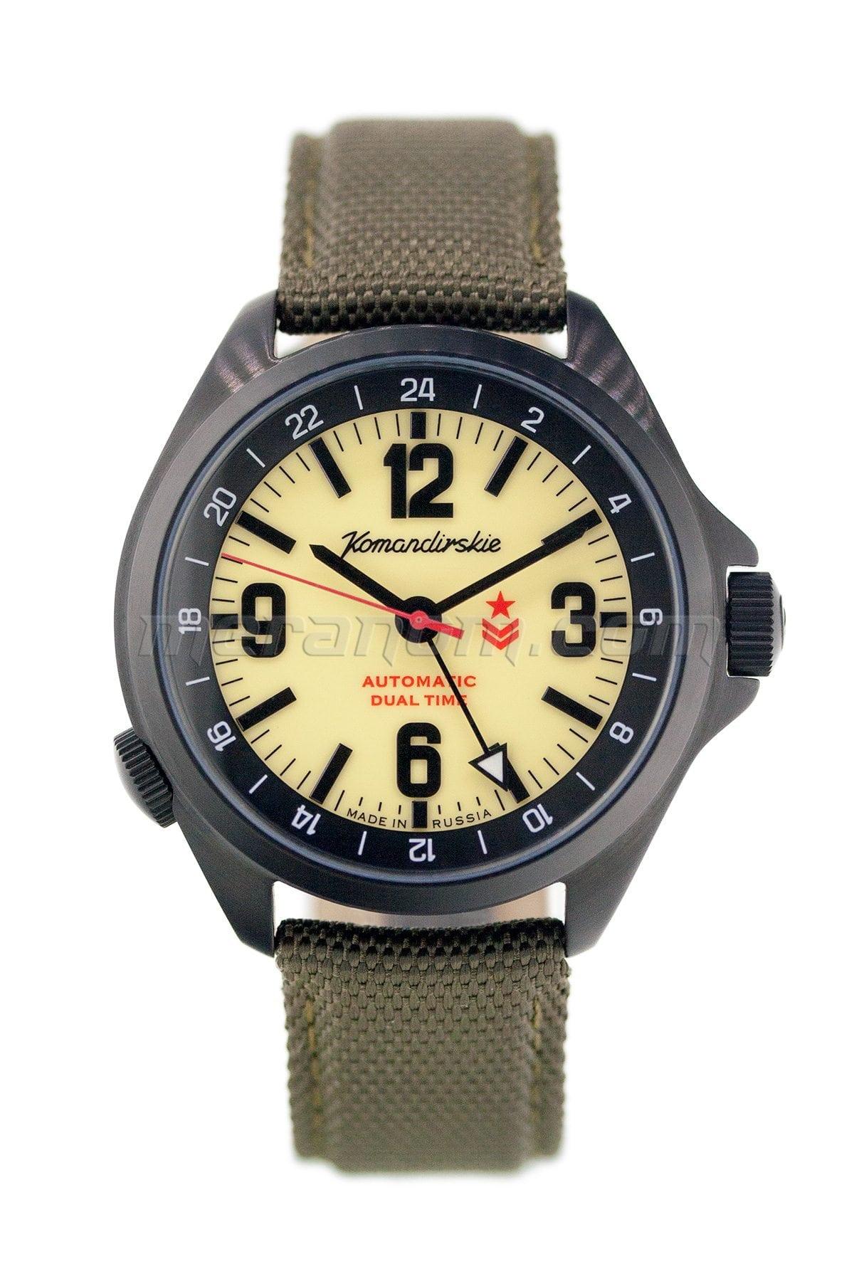 Vostok watch komandirskie k 34 2426 476613 buy from an authorized dealer for Komandirskie watches
