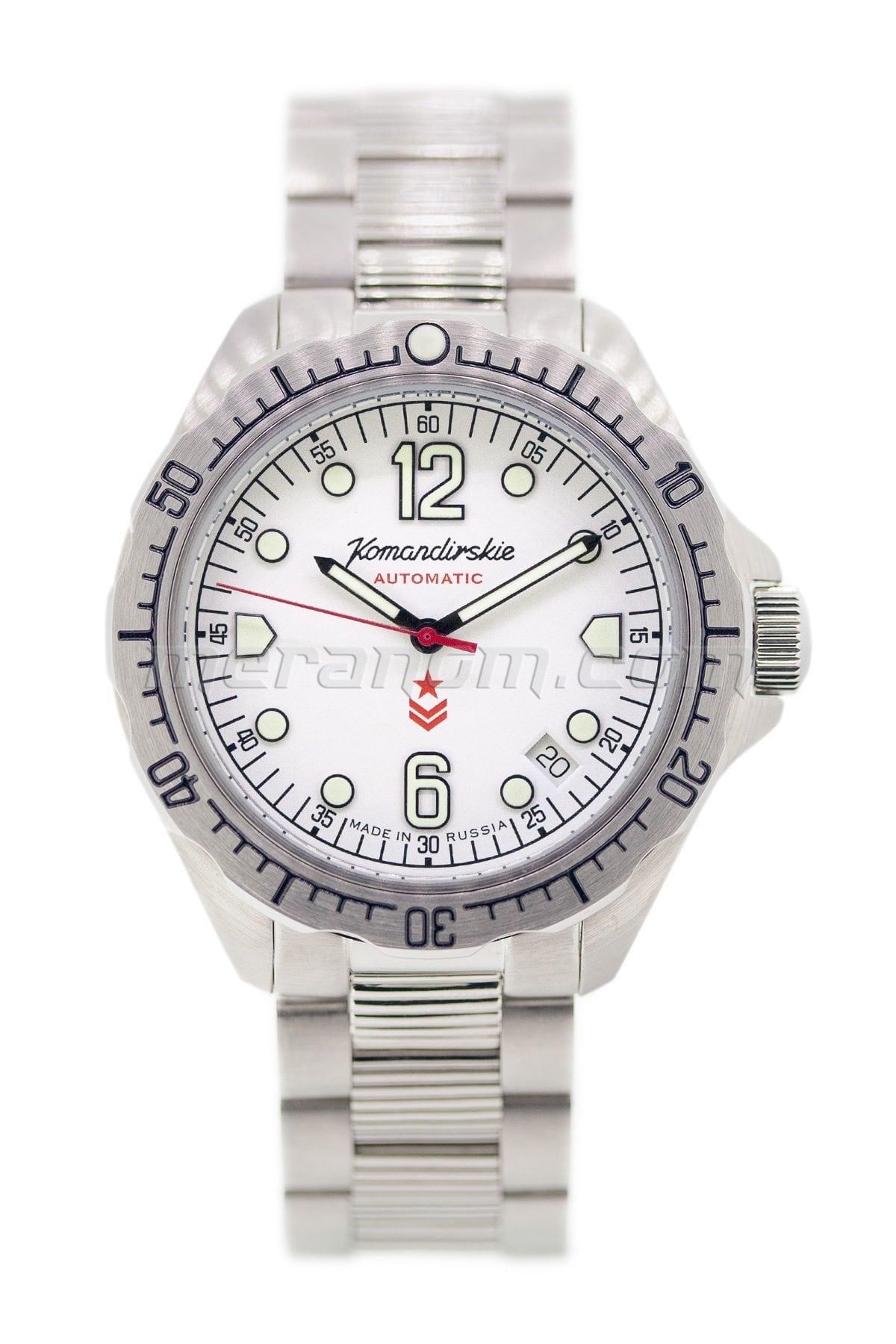 Vostok watch komandirskie k 34 2416b 480768 buy from an authorized dealer for Komandirskie watches