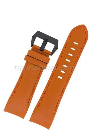 K39 Orange leather strap 24 mm