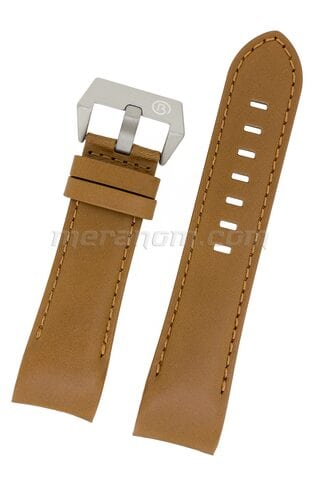 K39 sand leather strap 24 mm