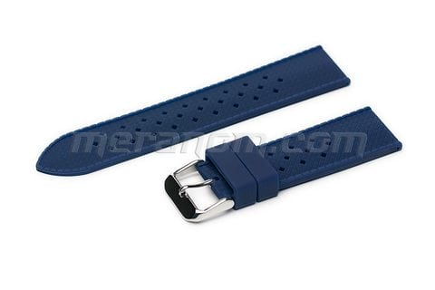 Orologi Vostok Silicon Strap Anti Dust 22mm Blue