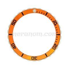 Vostok Amphibia Neptune orange Universal Bezel