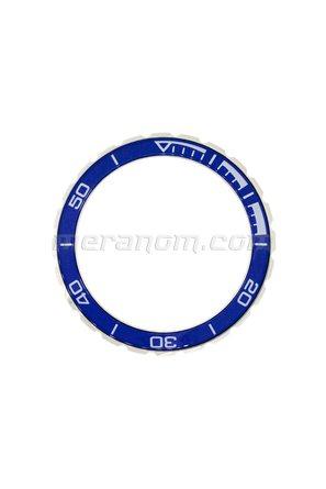 Диск времени 65ку3 (безель) Нержавеющая сталь синий