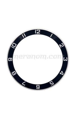 Schwarze Universallünette 12 Uhr