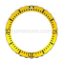 Bezel 02/15/30/45 yellow