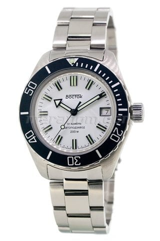 Amphibian SE 020B34 with solid bracelet