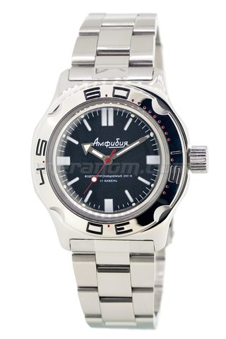 Vostok Watch Amphibian Classic 100916 with solid bracelet