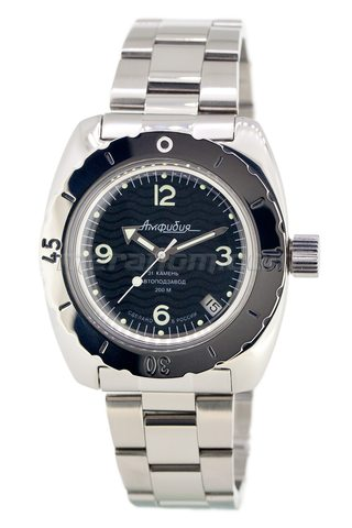 Vostok Watch Amphibian Classic 150344  with solid bracelet