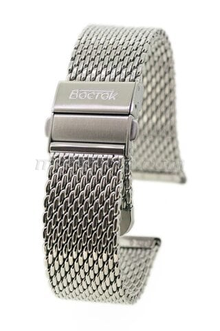 Vostok mesh band with detachable buckle 18mm