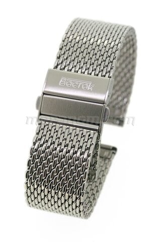 Vostok mesh band with detachable buckle 20mm
