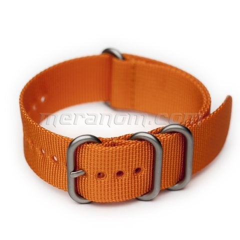 Vostok Watch AMPHIBIAN NATO/ZULU STRAP 22mm Orange