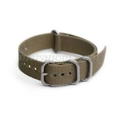 AMPHIBIAN NATO/ZULU STRAP 18mm Military green