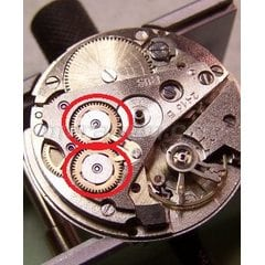 Reversing wheel for Vostok 24** caliber movement