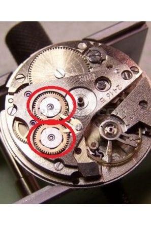 Reversing wheel for Vostok 24** caliber movement