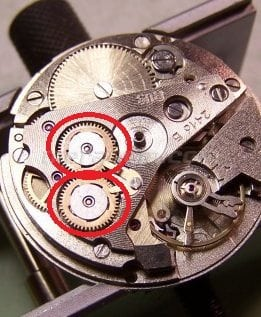 Vostok Watch Reversing wheel for Vostok 24** caliber movement