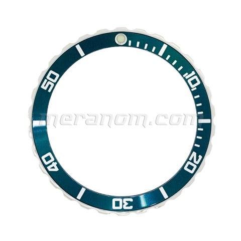 Vostok Amphibia Universal Bezel 059 de color verde azulado