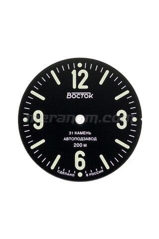 Часы Восток Циферблат для Восток 555 мелкие дефекты