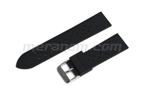Silicon Strap Anti Dust 22mm Black