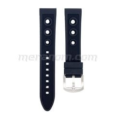 Silicon Strap Anti Dust 20mm Black