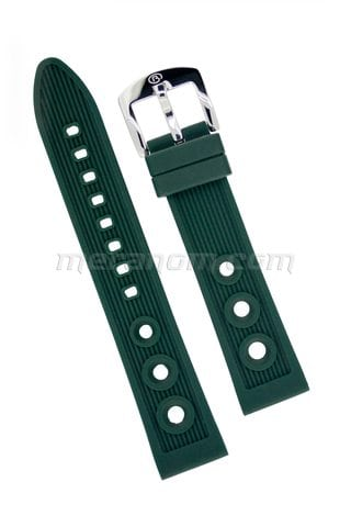 Vostok Watch Silicon Strap Anti Dust 20mm Green
