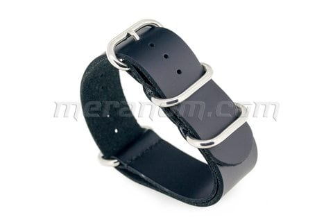 Vostok Watch ZULU Leather Strap 22mm