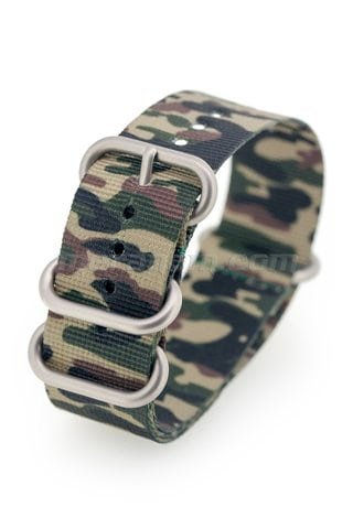 Vostok Watch ZULU STRAP 22mm Camouflage