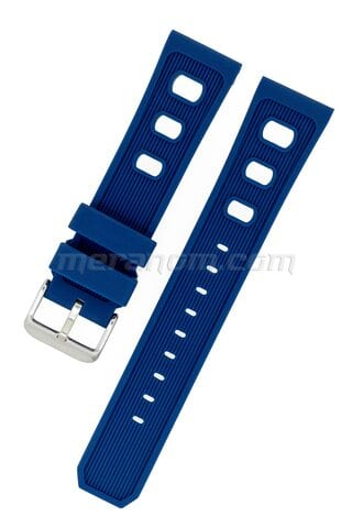 Vostok relojes Silicon Strap 22mm blue 1967
