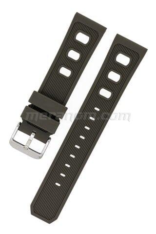 Vostok Watch Silicon Strap 22mm Brown 1967
