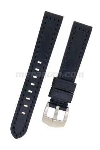 Vostok Genuine Leather Black Strap, 18 mm