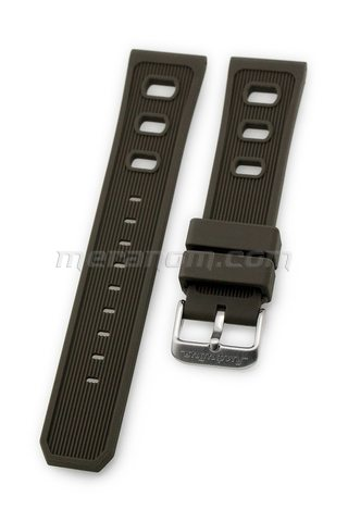 Vostok Watch Silicon Strap 22mm Brown 1967