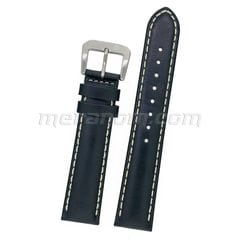 Leather Strap white stitching 20mm