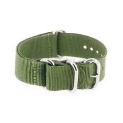 Zulu Green Strap 22 mm
