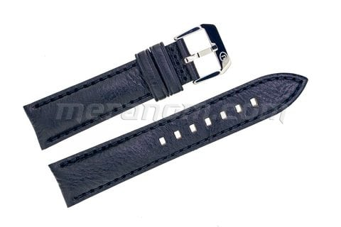 Vostok Watch Black leather strap silver buckle 20mm