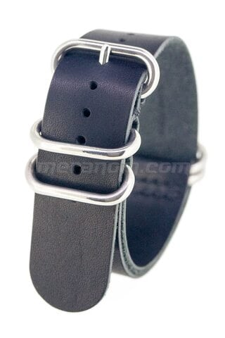Vostok relojes ZULU Leather Strap 22mm