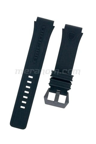Vostok Watch Strap for Amfibia Scuba Black PVD Buckle