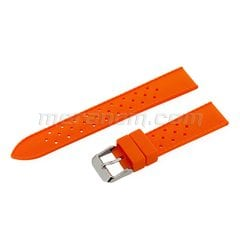 Silicon Strap Anti Dust 18mm Orange