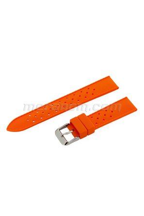 Silicon Strap Anti Dust 18mm Orange