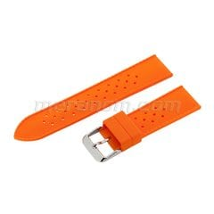 Silicon Strap Anti Dust 22mm Orange