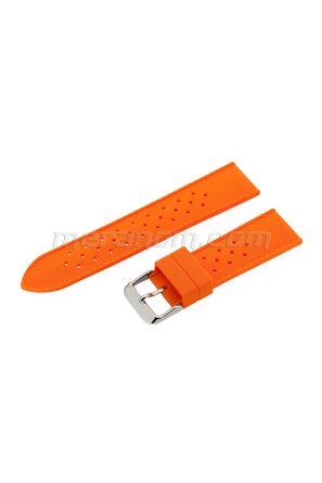 Silicon Strap Anti Dust 22mm Orange