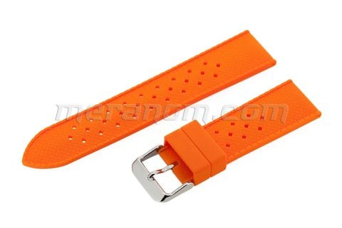 Orologi Vostok Silicon Strap Anti Dust 22mm Orange