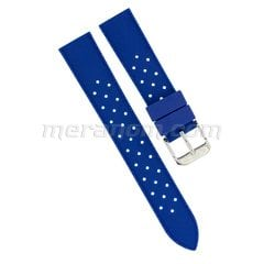 Silicon Strap Anti Dust 18mm Blue 281