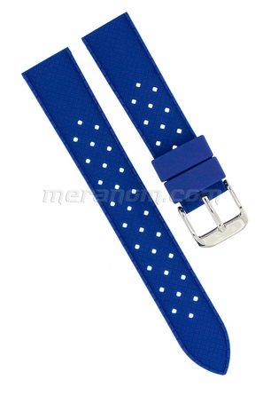 Silicon Strap Anti Dust 18mm Blue 281